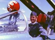 Thunderbirds F-100D Super Sabre. Maj. Russell Goodman