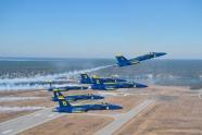 Blue Angels first Super Hornet Delta photos