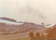 Red Arrows Folland Gnat at Silverstone Gran Prix