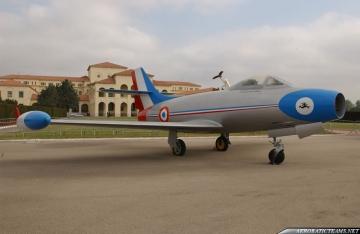 Patrouille de France MD-450 Ouragan