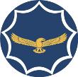 Silver Falcons aerobatic team logo