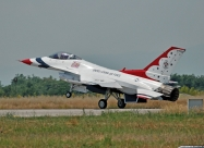 Thunderbirds #4 landing. Public day, June 25