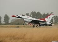 Thunderbirds #6 landed in rain. Public day, June 25