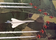 Red Arrows and Corncorde