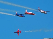 Patrouille Suisse, Patrouille de France, Isky and Red Arrows