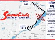 Quebec flyover map
