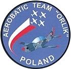 Orlik aerobatic team logo