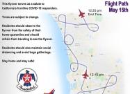 San Diego flyover map - May 15