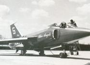 Blue Angels F11F Tiger short nose