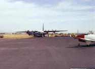 Blue Angels TA-4 Skyhawk and Fat Albert
