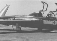 IAI Tzukit (CM.170 Fouga Magister), first blue-white paint scheme