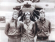 Three Flying Fish pilots. In right Frederick Trapnell. Oct 24, 1930