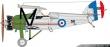 Siskins Armstrong - Whitworth Siskin IIIA livery