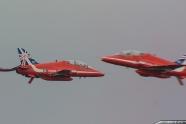 Red Arrows bird strike at Waddington