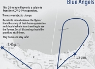 New Orleans flyover map
