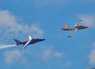 Patrouille de France Alpha Jet and Fouga Magister
