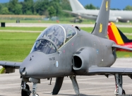 Midnight Hawks BAe Hawk Mk.51, present paint scheme