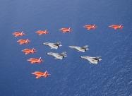 Red Arrows RAF Tornados