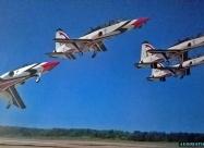 Thunderbirds T-38 Talon Diamond Take off