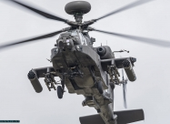 RAF Apache helicopter