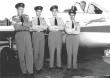 Blue Devils de Havilland Vampire pilots