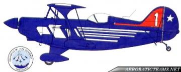 Halcones Pitts Special S2A (1980-90) paint scheme