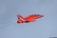 Red Arrows are safe after Ministry of Defence plans to retire entire fleet of 76 Hawk T1 aircraft