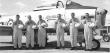 Marksmen Pilots from left: Bob Walsh, Bruce Grayson, Nobby Williams, Fred Freeman, Stu Back and Ron Johnson. Photo via Cynthia Walsh