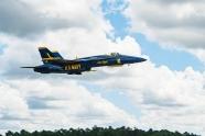 Blue Angels received first F/A-18 Super Hornet