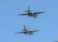 Bulgarian Air Force Su-25 and Su-25UB