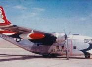 Thunderbirds C-123D Provider cargo plane