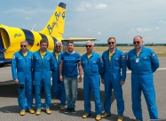 Me with Baltic Bees pilots