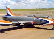 Silver Falcons MB-326 Impala. Second paint scheme from 1985 to 1994
