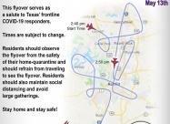 Austin flyover map