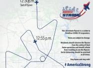 Houston flyover map