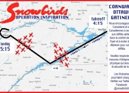 Cornwall, Ottawa, Gatineau flyover map