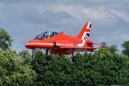 Red Arrows aircraft crashed today