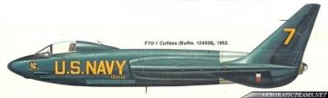 Blue Angels F7U Cutlass