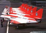 Black Knights A-4SU and F-16A