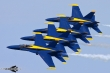 Blue Angels Echelon formation