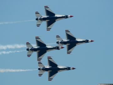 USAF Thunderbirds announced 2020 officers