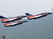 August 1st Chengdu J-10. Photo by Ivan Voukadinov