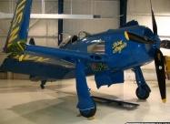 Blue Angels F8F Bearcat replica