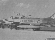 Thunderbirds F-100F Super Sabre