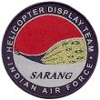 Sarang aerobatic team logo