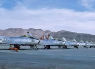 Thunder Tigers F-86 at World Congress of Flight. April 1959 Nellis AFB