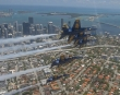 The U.S. Navy Flight Demonstration Squadron, the Blue Angels, flyover Miami, May 8, 2020. U.S. Navy photo by Mass Communication Specialist 1st Class Jess Gray