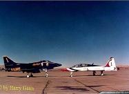 Thunderbirds T-38 Talon and Blue Angels A-4