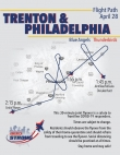 Trenton & Philadelphia flyover route