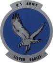 Silver Eagles aerobatic team logo